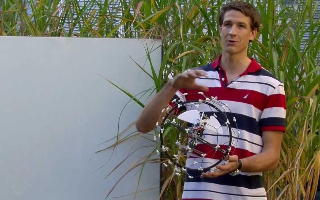 Lightweight Crash-Resistant Flying Gimball