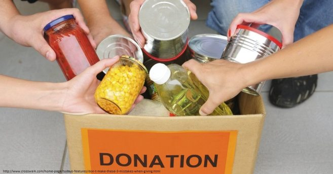 donación. necesidades basicas ser humano