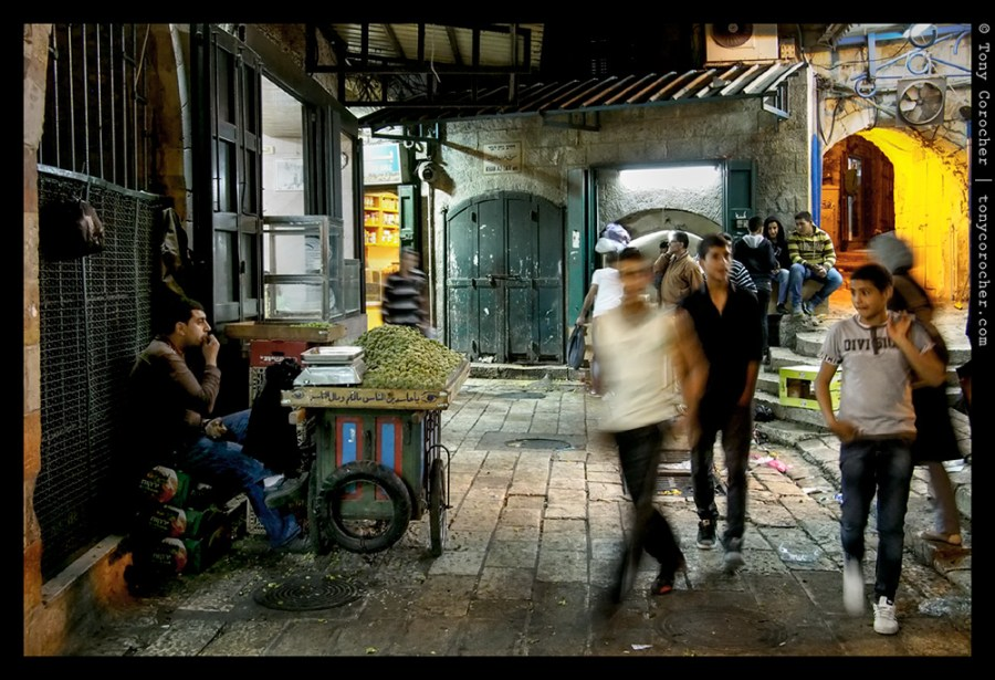 Daily life in the market of old Jerusalem - 2013 © Tony Corocher | All Rights Reserved
