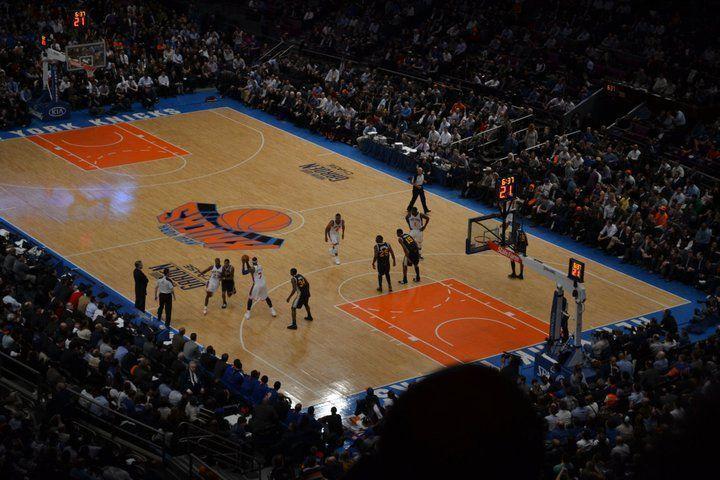 NY Knicks vs Utta Jazz, Madison Square garden