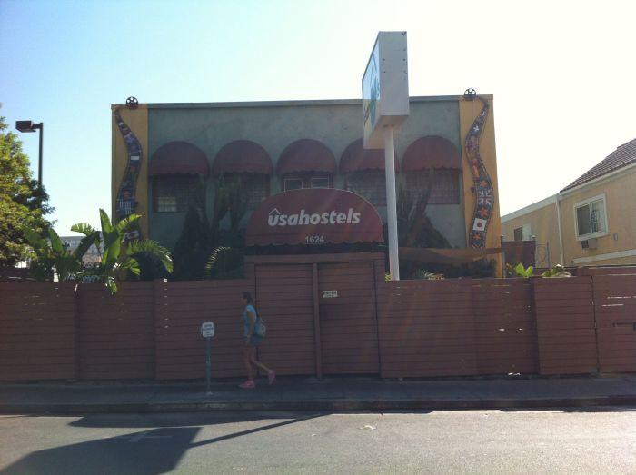 USA Hostels Hollywood, donde me alojé