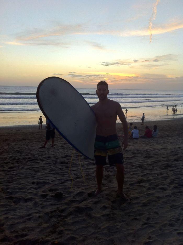 Postureo a tope en Bali
