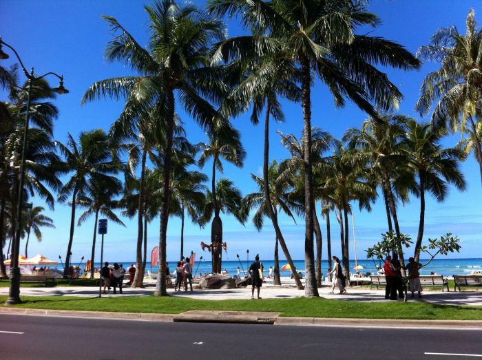Paseo marítimo de Waikiki Beach
