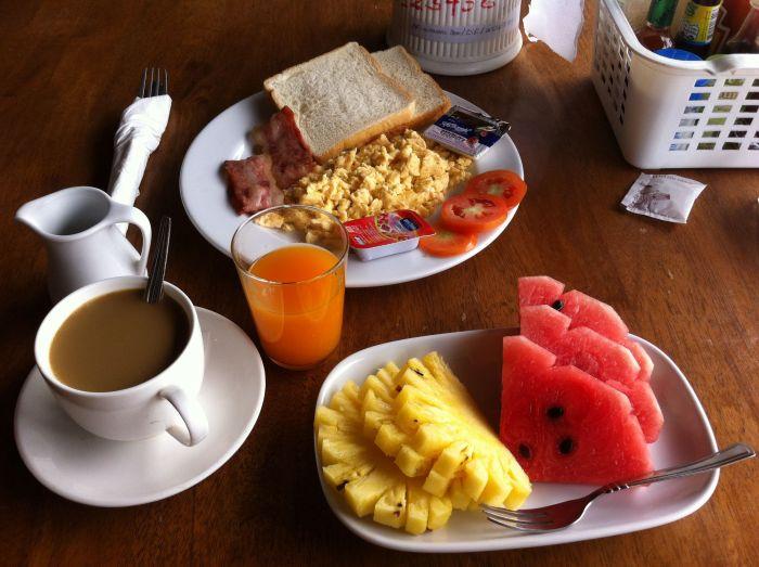 Desayuno en Phi Phi :D