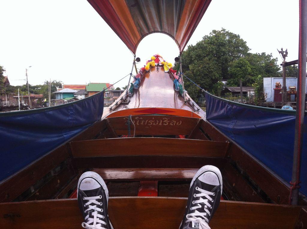 Paseo en barca por el rio Chao Praya