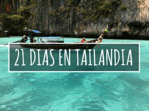 21 DÍAS EN TAILANDIA