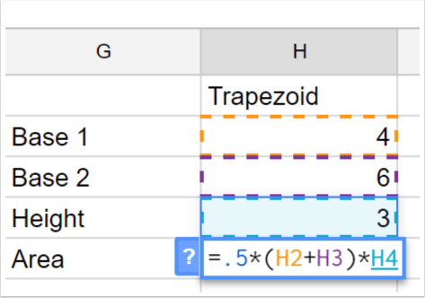 Google spreadsheets