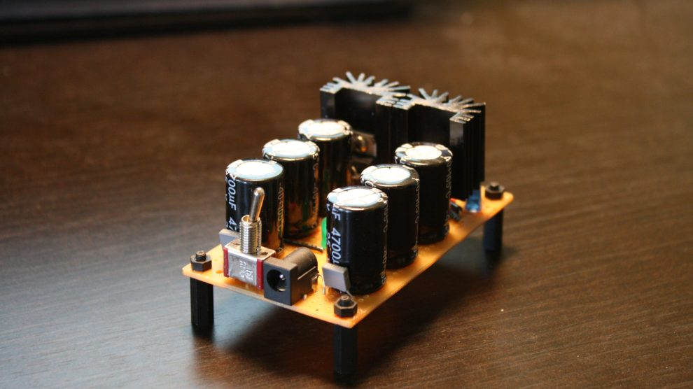 Wave Rectifier Power Supply for Modular Synth