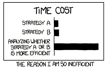 Time Cost of Indecision
