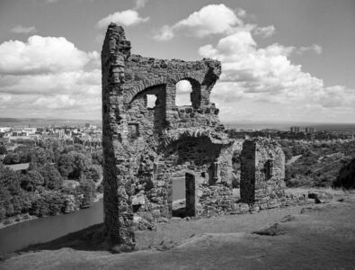 St Anthonys ruins, Edinburgh, Scotland