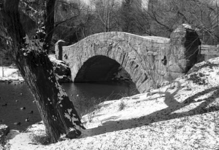 Gapstow Bridge, Central Park, New York