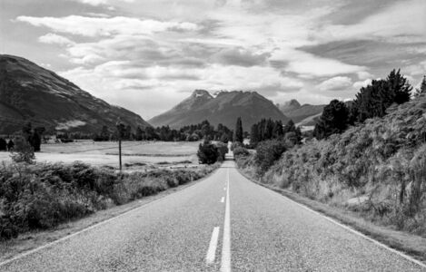 The road to Paradise, New Zealand