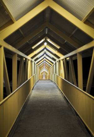 Pedestrian Bridge, Newcastle, NSW