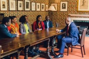 Tony Elumelu speaks to Oxford based NLI fellows