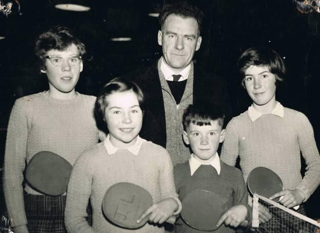 Bill and children