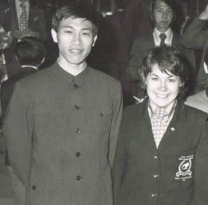 Diao Wenyuan and Yvonne Fogarty