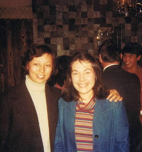 Liu Yen Li and Yvonne, Dunedin NZ 1980
