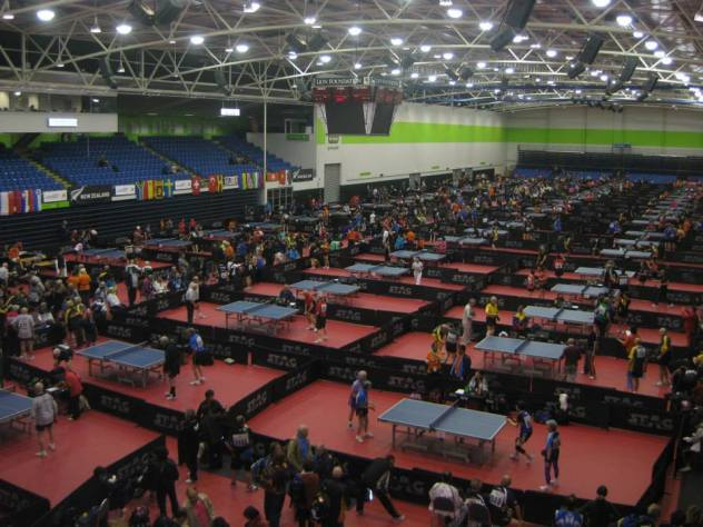 World Veteran Table Tennis Championships at Trust Arena, Auckland 2014