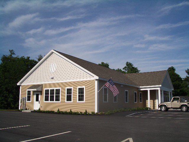 Green Town Hall Strafford New Hampshire Tony Fallon