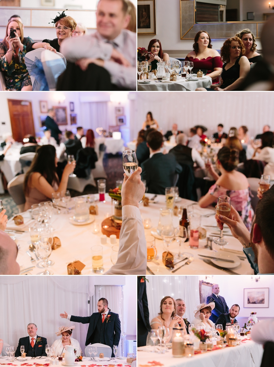 yet more speeches at Seiont manor wedding
