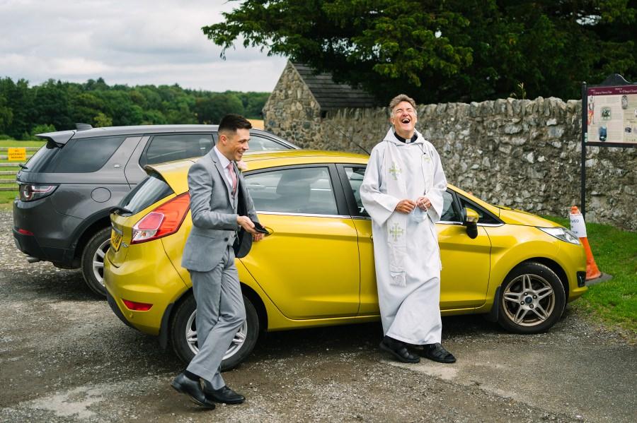 Bodnant wedding