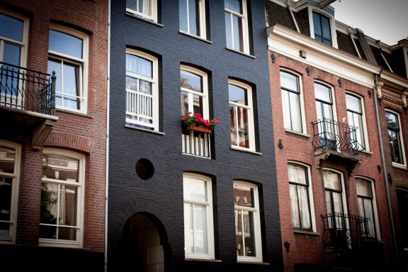 building in Amsterdam