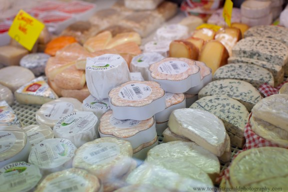 cheese in Amsterdam market