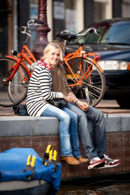 Couple in Amsterdam