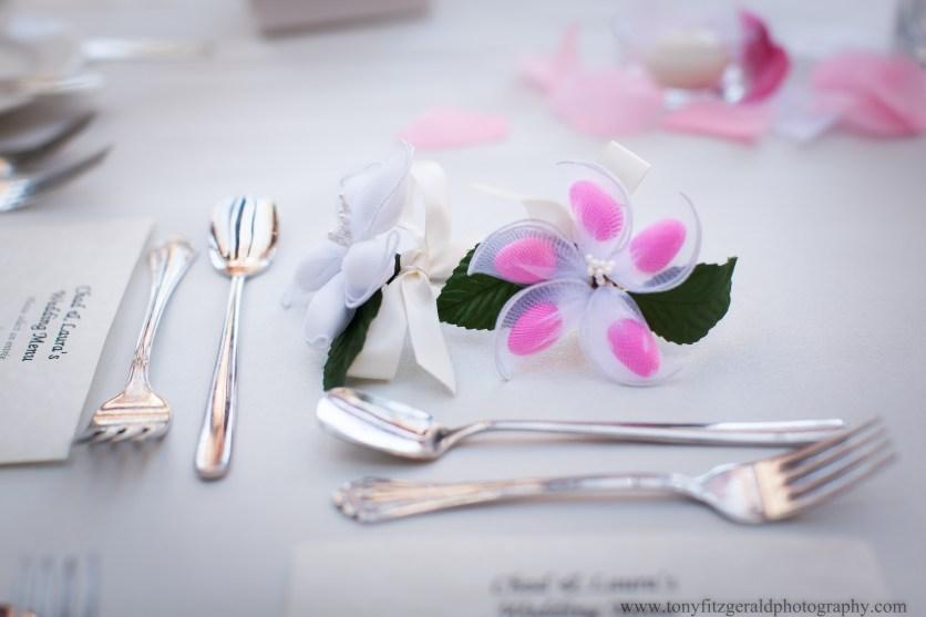 Almonds as Wedding favors