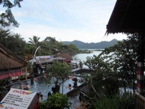 Hot springs at Mt Batur!
