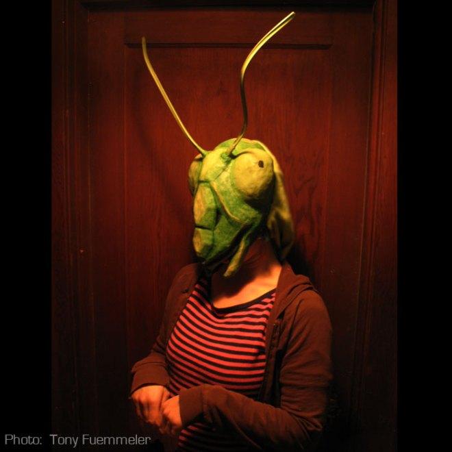 Coy. So coy. Just a like a mantis.