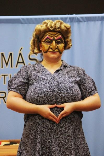 The Nightmare Teacher is not amused. Photo: © Pat Moran