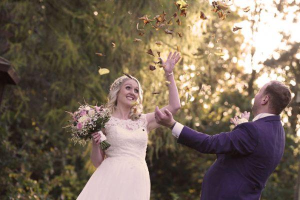 Autumn Wedding at The Mercure, Bewdley - Wedding Photographer