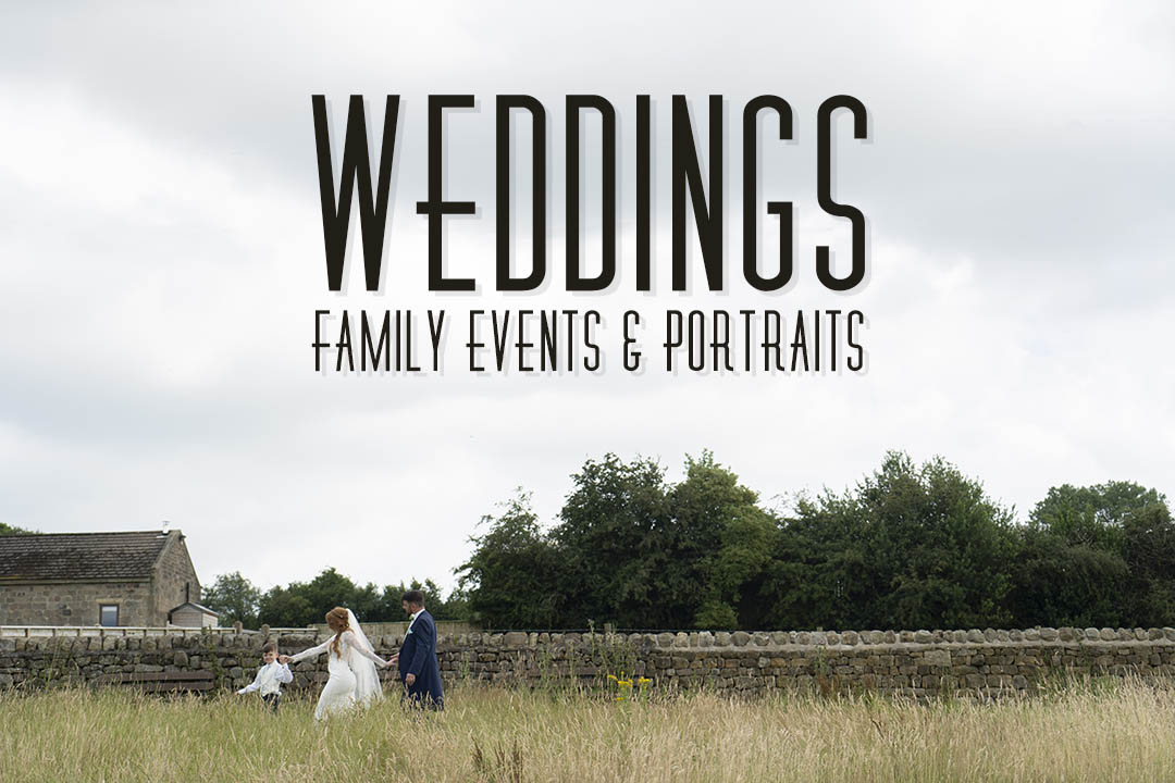 Wedding Photographer - Family Events, Portraits - Wedding Photography