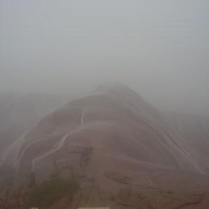 Rain on the rock