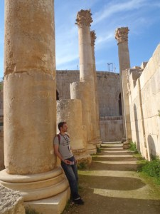 Another Column in Jerash