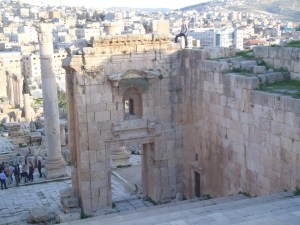 Up High in Jerash