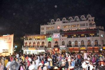 Hanoi Crowd