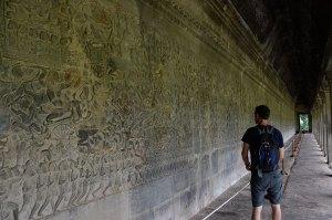 Long-wall-carvings