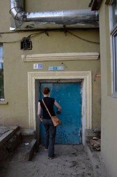 Lotus guesthouse door
