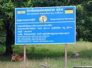 landmine-sign