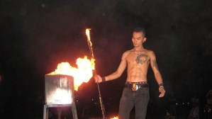 Thai Fire Dancer