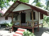 This was my home for over ten months on Koh Phangan - my sweet little wooden bungalow at Liberty, on Baan Thai beach.