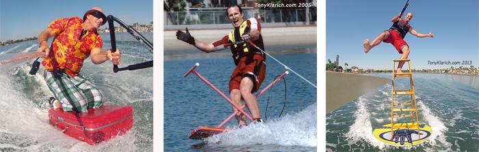 Klarich Water Ski Suitcase Ironing Board Disc Ladder 50