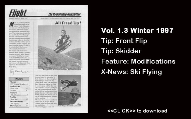 Flight Worlds Hydrofoiling 1.3 Free Download Water Skiing Boating Watersports