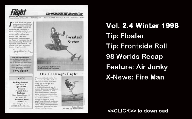 Flight Worlds Hydrofoiling 2.4 Free Tips Tricks Instruction Water Skiing Boating