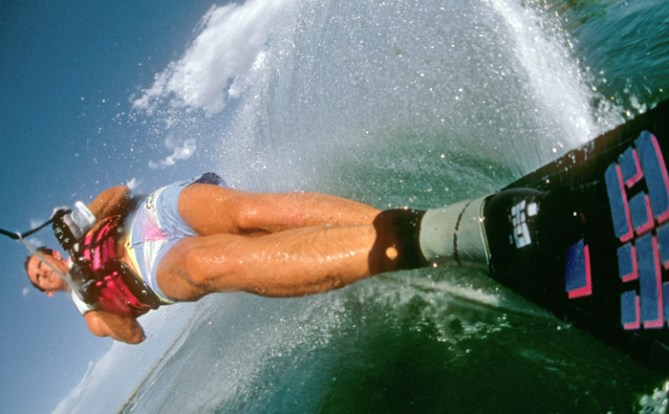 Klarich Rick Doyle First 1st Water Ski Camera 1987