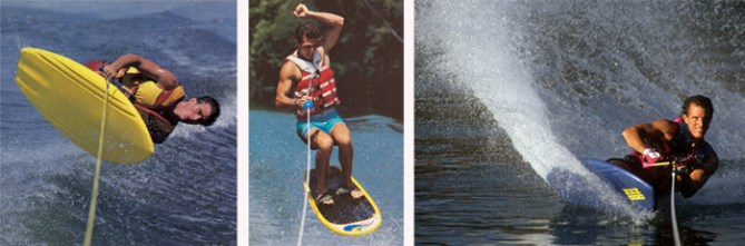 Klarich Water Skiing Kneeboarding Tricks Hydroslide