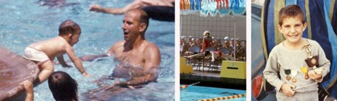 Swimming Tony Klarich