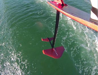 Foil GoPro Foil Shot Jump RIver